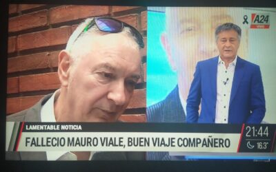 Murió Mauro viale